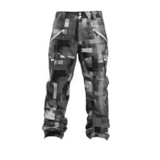 Oakley Originate Shell Mens Ski Pants, Black Camo, medium