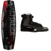 O'Brien Valhalla Wakeboard With OBrien Clutch Wakeboard Bindings 2013, 143cm, medium