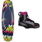 O'Brien Vixen Womens Wakeboard With OBrien Vixen Wakeboard Bindings 2013