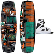 Hyperlite Clash Wakeboard With Hyperlite Team OT Wakeboard Bindings 2013, , medium