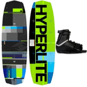 Hyperlite Forefront Wakeboard With Hyperlite Focus Wakeboard Bindings 2013, , medium