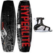 Hyperlite State Wakeboard With Hyperlite Remix Wakeboard Bindings 2013, , medium