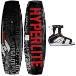 Hyperlite State Wakeboard With Hyperlite Remix Wakeboard Bindings 2013