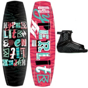 Hyperlite Eden Womens Wakeboard With Hyperlite Jinx Bindings, , medium