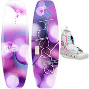 Hyperlite Divine Womens Wakeboard With Hyperlite Allure Wakeboard Bindings 2013, , medium