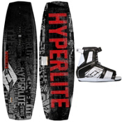 Hyperlite State Kids Wakeboard With Hyperlite Remix Wakeboard Bindings 2013, , medium