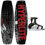 Hyperlite State Kids Wakeboard With Hyperlite Remix Wakeboard Bindings 2013