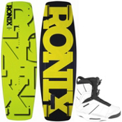 Ronix Phoenix Project S Wakeboard With Ronix Preston Wakeboard Bindings 2013, , medium