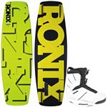Ronix Phoenix Project S Wakeboard With Ronix Preston Wakeboard Bindings 2013