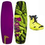 Ronix Bill Wakeboard With Ronix Frank Wakeboard Bindings 2013