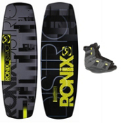 Ronix District Wakeboard With Ronix District Wakeboard Bindings 2013, , medium