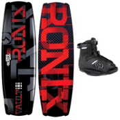Ronix Vault Wakeboard With Ronix Divide Wakeboard Bindings 2013, , medium