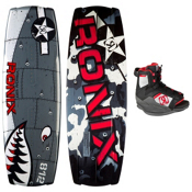 Ronix Vision Kids Wakeboard With Ronix Vision Wakeboard Bindings 2013, , medium