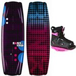 Ronix Krush Womens Wakeboard With Ronix Halo Wakeboard Bindings 2013