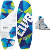 CWB Absolute Wakeboard With CWB Torq Wakeboard Bindings 2013, , medium