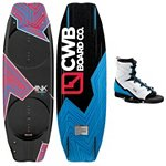 CWB Kink Wakeboard With CWB Venza Wakeboard Bindings 2013