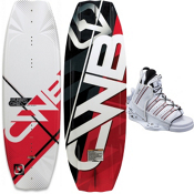 CWB Pure Wakeboard With CWB Edge Wakeboard Bindings 2013, , medium