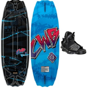 CWB Surge Kids Wakeboard With CWB Seven Kids Wakeboard Bindings 2013, , medium