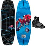 CWB Surge Kids Wakeboard With CWB Seven Kids Wakeboard Bindings 2013