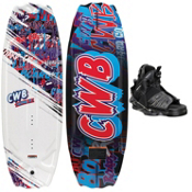 CWB Charger Kids Wakeboard With CWB Seven Kids Wakeboard Bindings 2013, , medium