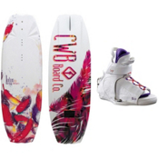 CWB Lotus Womens Wakeboard With CWB Sage Womens Wakeboard Bindings 2013, , medium