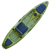 Jackson Kayak Coosa Elite Fishing Kayak 2013, Olive, medium