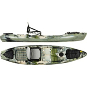 Jackson Kayak Coosa Elite Fishing Kayak 2013, Forest Camo, medium