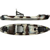 Jackson Kayak Coosa Elite Fishing Kayak 2013, Desert Camo, medium