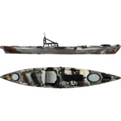 Jackson Kayak Cuda 14 Fishing Kayak 2013, Desert Camo, medium
