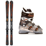 Salomon Enduro LX 800 Ski Package 2013, , medium