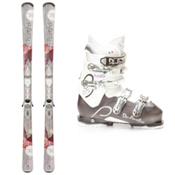 Rossignol Temptation 76 Womens Ski Package 2013, , medium