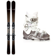 Salomon Origins Lava Womens Ski Package 2013, , medium