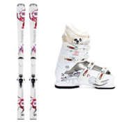 Rossignol Attraxion Womens Ski Package 2013, , medium