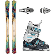 Nordica Nemesis Womens Ski Package 2013, , medium