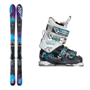 K2 SuperGlide Womens Ski Package 2013, , medium