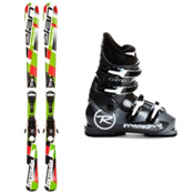 Elan Formula 7.5 Kids Ski Package 2013, , medium