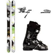 Salomon Shogun 100 Ski Package 2013, , medium