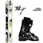 Salomon Shogun 100 Ski Package 2013