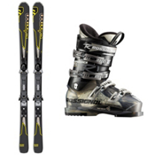 Salomon Enduro RXT 800 Ski Package 2013, , medium