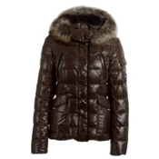 KJUS Cosmopolitan Down Womens Jacket, Chocolate Brown, medium