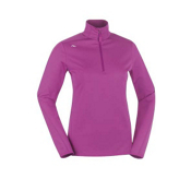 KJUS Element Half Zip Womens Mid Layer, Fuchsia Red, medium