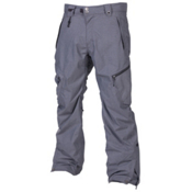 686 Plexus Plasma Mens Snowboard Pants, Gunmetal Houndstooth, medium