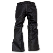 686 Reserved Raw Wax Mens Snowboard Pants, Black Wax Denim, medium