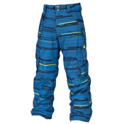 686 Smarty Original Cargo Kids Snowboard Pants, Blue Streak, medium