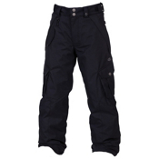 686 Smarty Original Cargo Kids Snowboard Pants, Black, medium