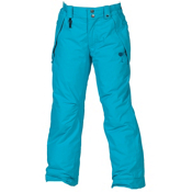 686 Mannual Brandy Girls Snowboard Pants, Turquoise, medium