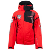 Spyder Team Boys Ski Jacket, Volcano-Black-Volcano, medium