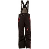 Spyder Team Kids Ski Pants, Black-Volcano, medium
