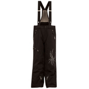 Spyder Avenger Kids Ski Pants, Black-Black, medium