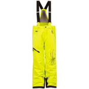 Spyder Avenger Kids Ski Pants, Sharp Lime-Sharp Lime, medium